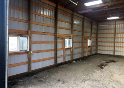 sprayfoam-insulation-steel-building-before